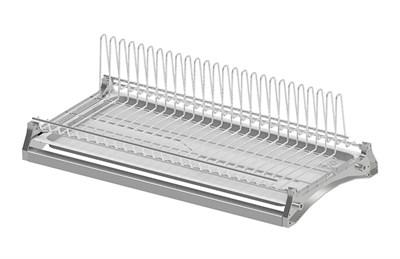 Посудосушитель одноуровневый REJS 450 (Польша хромированная сталь) - фото 21381