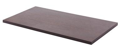 Полка ДСП дуб венге (585x306x16 мм) - фото 21740