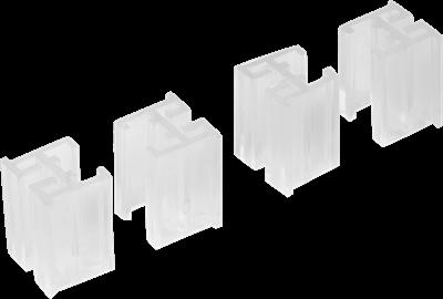 Аксессуары для фиксации сетчатых полок (4 шт.) - фото 21923