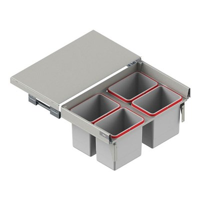 Система выкатных ведер REJS MAXIMA корпус 80 (Глубокий ящик) - фото 22214