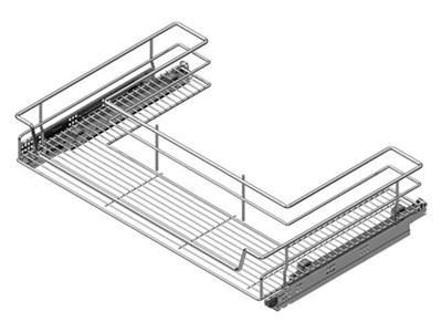 Корзина под мойку STARAX для распашных фасадов - фото 22335