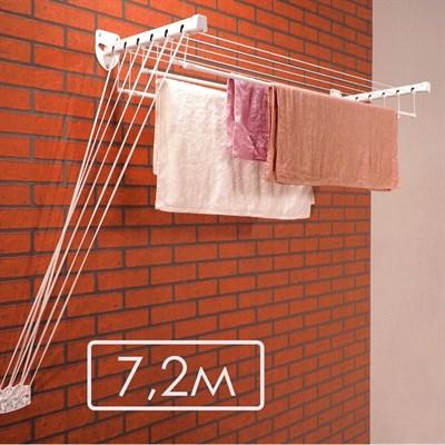 Сушилка потолочно-настенная «LEVEL 120» 7,2м - фото 24171