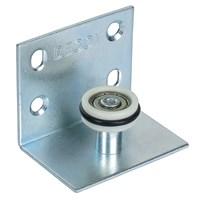 Нижний ролик для подвесной системы на внутреннюю дверь (Короткий)